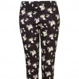 legginsy Topshop w kwiaty - moda damska na jesień i zimę