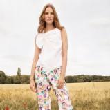 letnia bluzeczka Chloe w kolorze białym - wiosna i lato 2013