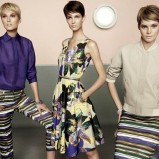 letnia sukienka Max Mara w kwiaty - wiosna i lato 2013