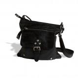 listonoszka Lindex w kolorze czarnym - torebki na jesień i zimę