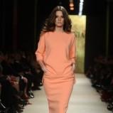 łososiowa sukienka La Mania - wiosna-lato 2012