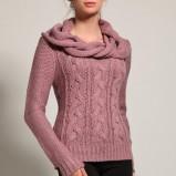 łososiowy sweter Orsay - jesień/zima 2011/2012