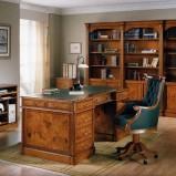 Luksusowe masywne biurko w kolorze brązu - design na 2013
