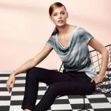 luźna bluzeczka H&M w kolorze szarym - zima 2013/14