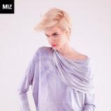 luźna bluzeczka Mulholland w kolorze fioletowym - moda 2013