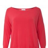 luźna bluzka Solar w kolorze czerwonym - wiosna i lato 2013