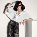 luźna koszula Max Mara w kolorze białym - moda na wiosnę i lato 2013