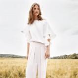 luźne spodnie Chloe w kolorze białym - wiosna i lato 2013