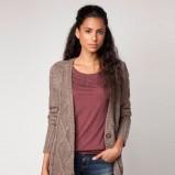 luźny kardigan Bershka w kolorze brązowym  - swetry 2012/13