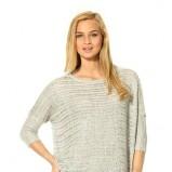 luźny sweter Orsay w kolorze szarym - moda na jesień 2013