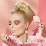 Makijaż pastelowy i różowe usta MAC jesień 2012
