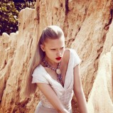 Marcelina Sowa - Harper's Bazaar lipiec 2012