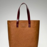 maxi torba Stradivarius w kolorze brązowym - modne torebki na jesień i zimę