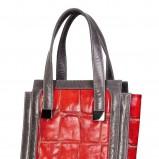maxi torebka Caterina w kolorze czerwonym - nowa kolekcja