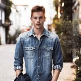 męska jeansowa koszula Pepe Jeans - lato 2013