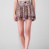 mini spódnica Stradivarius w kwiaty - kolekcja damska na jesień i zimę