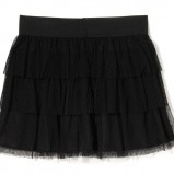 mini spódniczka House w kolorze czarnym - moda sylwestrowa 2012