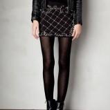 mini spódniczka Pull and Bear w kolorze czarnym - karnawał 2013