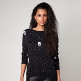 młodzieżowy sweter Bershka w kolorze czarnym  - jesień i zima 2012/13