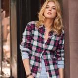 moda koszula H&M w kratkę