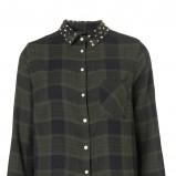moda koszula Topshop w kratkę