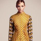 modna bluzeczka H&M we wzorki - jesień i zima 2012/13