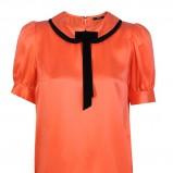 modna bluzka Simple w kolorze pomarańczowym - kolekcja na jesień i zimę