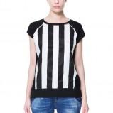 modna bluzka ZARA w pasy - kolekcja na wiosnę 2013