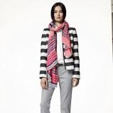modna katana GAP w paski - moda 2013