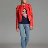 modna kurteczka Top Secret w kolorze koralowym - moda na wiosnę 2013