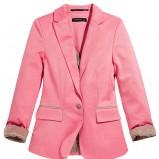 modna marynarka Reserved w kolorze różowym - ubrania damskie na jesień i zimę