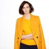 modna marynarka ZARA w kolorze żółtym - wiosna 2013