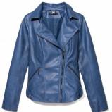 modna ramoneska Mohito w kolorze niebieskim - moda na lato 2013