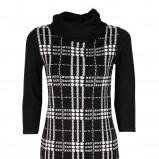 modna sukienka Caterina w kratkę - kolekcja na jesień i zimę
