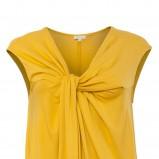 modna sukienka Solar w kolorze musztardowym - sukienki 2013