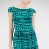 modna sukienka Stradivarius w kolorze zielonym - moda na lato 2013