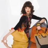 modna torebka Solar w kolorze musztardowym - moda damska