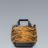 modna torebka ZARA w panterkę