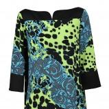 modna tunika Versace we wzory - zjawiskowa kolekcja
