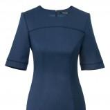modna z krótkam rękawem sukienka Pretty One w kolorze granatowym - kolekcja na jesień i zimę 2012/13