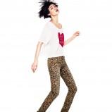 modne legginsy H&M w panterkę - moda na jesień i zimą