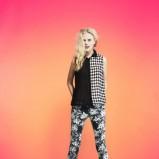 modne legginsy Tally Weijl w kwiaty - lato 2013