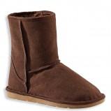 modne śniegowce C&A w kolorze brązowym  - kolekcja  jesień-zima 2012/2013