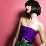 modny paź - włosy brązowe  - modne cięcia