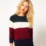 modny sweter Asos w paski - jesienno - zimowa kolekcja 2012/13