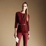 modny sweterek Reserved w kolorze bordowym - kolekcja dla kobiet