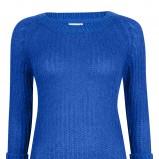 modny z rękawem 3/4 sweter Cubus w kolorze kobaltowym - kolekcja damska