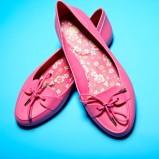 mokasyny MEL w kolorze różowym - lato 2013