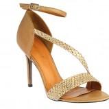 musztardowe sandały Gino Rossi - wiosna/lato 2012