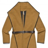 musztardowy płaszcz Carry - moda na jesień i zimę 2013/14